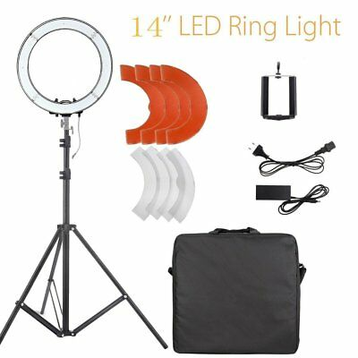 14'' 40W LED Photo Video Dimmable Adjustable Ring Light Kit & Light stand