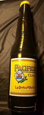 "CERVEZA PACIFICO BEER BOTTLE 30"" TALL INFLATABLE BLOW UP Bottle Bar Display"