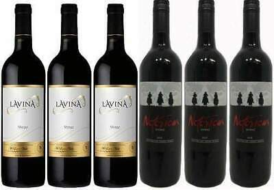 Mixed Dozen | Lavina Gold Series Shiraz & Legends Notorious Shiraz | Wine of ...