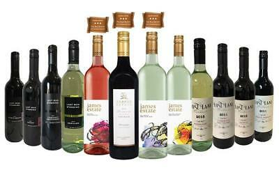 Mixed Dozen | James Estate Range | Wine of Australia (12 Bottles) | Australia...