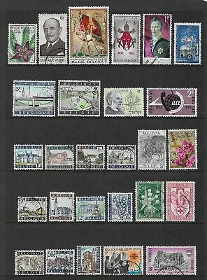 BELGIUM mixed collection No.19, used