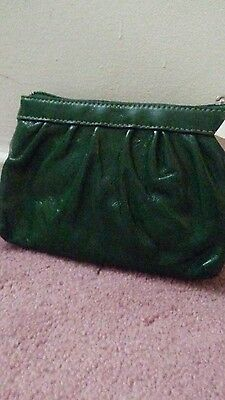 NWT authentic Coach Green Wristlet item nbr F43432 sv/Gn original price 99.00