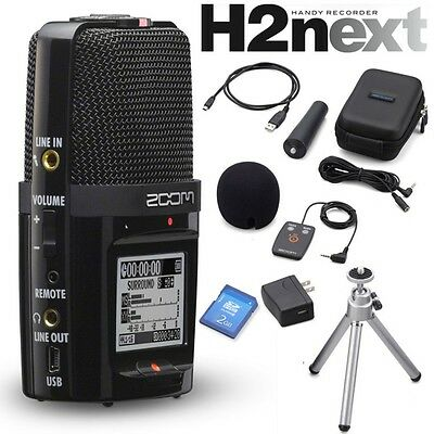 Zoom H2n Handy Recorder + APH-2n Accessory Pack Set H2next New F/S