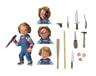 "Childs Play Chucky 4"" Ultimate Action Figure - 7"" Scale"