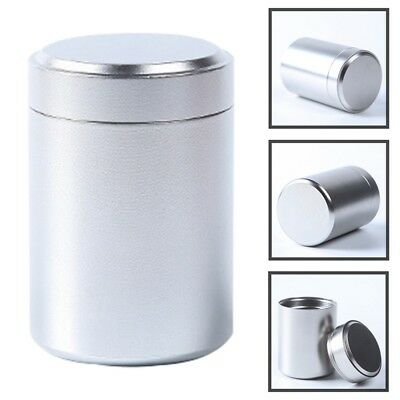 Airtight Smell Proof Container Aluminum Herb Stash Jar Metal Sealed Can Tea Jar