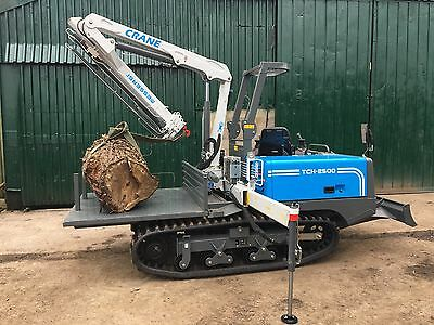2018 Messersi TCH2500 Tracked Mounted Crane - Specialist track dumper chassis