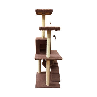 1.8M Cat Scratching Post Tree Gym House Condo Furniture Scratcher Pole