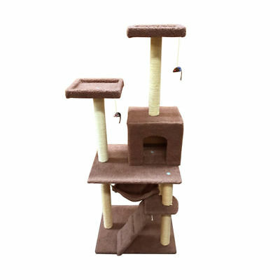 1.4M Cat Scratching Post Tree Gym House Condo Furniture Scratcher Pole