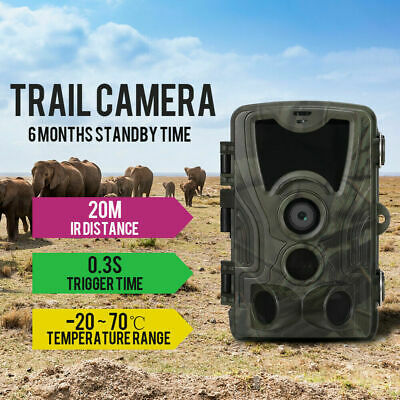 New Infrared 16 MP Game Trail Stealth Security IP65 Waterproof Camera K2I2