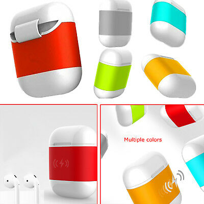 QI Standard Wireless Charging Charger Case Protective Cover for Apple AirPods