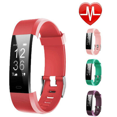 Fitness Activity Tracker Smart Watch Step Calorie Distance Fitbit Type