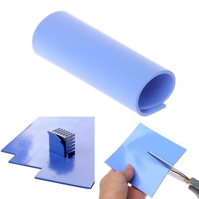 100x100x2 mm CPU Thermal Silicone Heatsink Pad Cooling Conductive Pads Cooler