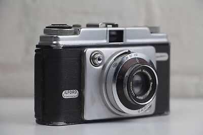 iLFORD DACORA Sportsman Vintage 35mm Film Camera ~ Made in Germany