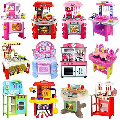 Childrens Kids Toy Pretend Role Play Kitchen Cooker Game Accessories Play Set