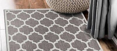Hallway Runner Hall Runner Rug Modern Grey 3 Metres Long x 80cm Wide  Elite 4553
