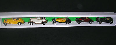 Model car display shelf in white