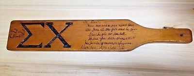 Vintage Wood Fraternity Paddle  1974 - 75 - It's worth a look.