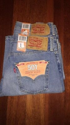 Levi's 501 Men's Jeans Shorts Brand New With Tags [Sizes 32 & 30 Available]