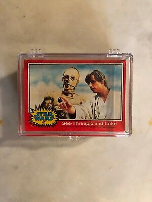 1977 Topps Star Wars Red 2nd Series Complete 66-Card #67-132 Set