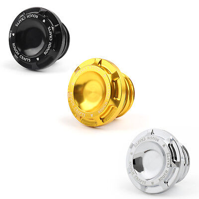 Aluminum Metal Fuel Gas Tank Oil Cap Tanque Tapa Para Harley Motorcycle 1996-UP/