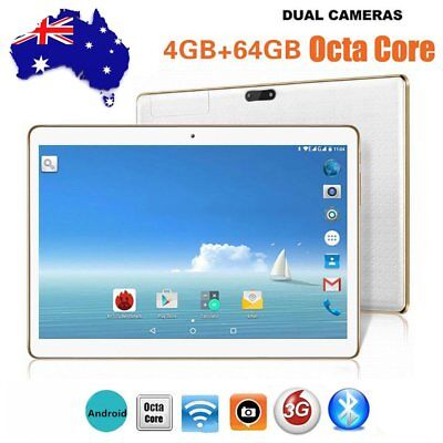"10.1 "" Octa-Core 4G+64G Android Dual Sim Camera Phone Pad Wifi Phablet Tablet OG"