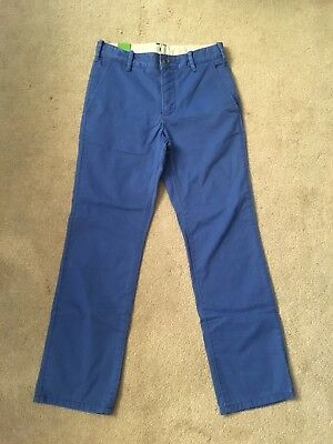 Kids Gap Denim Jeans 10 - 11 Years Boys Childrens Straight Mid Rise Blue Bnwt