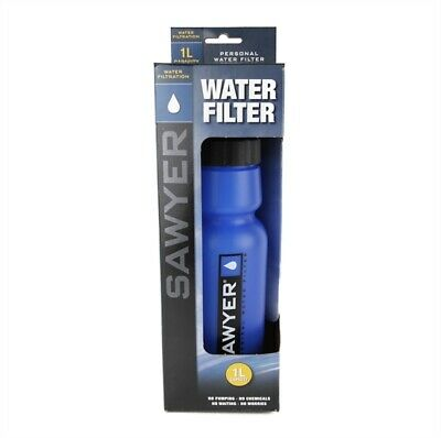 2 x SAWYER - SP128 BLUE MINI WATER FILTER (FOC Extra Squeeze Pouch)