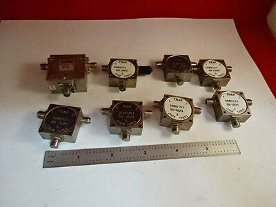 Trak & Others Circulators Rf Frequency Microwave As Is &86-34
