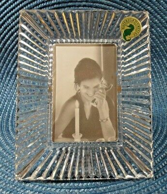 """Waterford Crystal   2"""" x 3"""" SOMERSET PICTURE FRAME ~ New"""