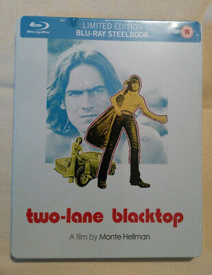 Two-Lane Blacktop (Blu-ray, 2012) - New and SEALED steelbook
