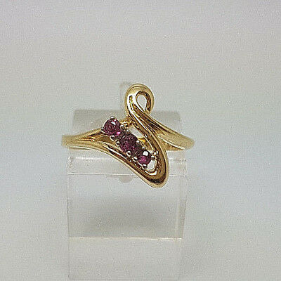 Fabulous 18ct Gold Ladies Ruby Dress Ring.   Goldmine Jewellers.