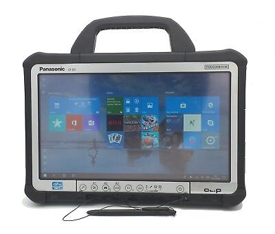 Panasonic Toughbook CF-D1 mk2 Core i5-3340M 4GB 256GB SSD Win 10 Tablet A- Ware
