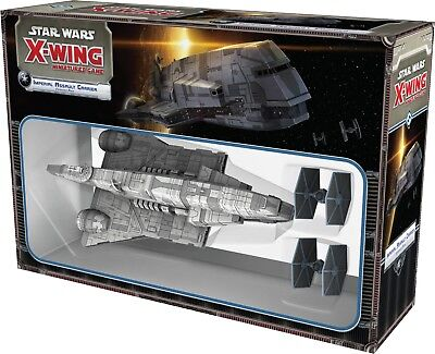 Star Wars X-Wing Miniatures Game: Imperial Assault Carrier Expansion BRAND NEW