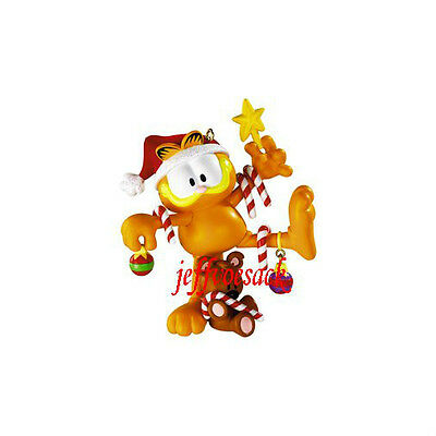 "Garfield ""Ready to Decorate"" 2009 Carlton ornament *Clearance*"