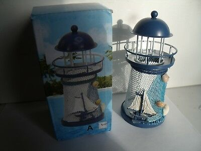 Decorative Lighthouse - lights up red, blue, and green