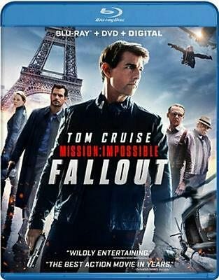 Mission: Impossible - Fallout - Blu-Ray Region 1 Free Shipping!