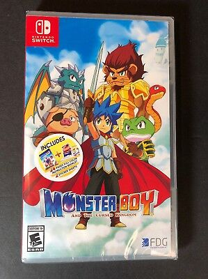 Monster Boy and the Cursed Kingdom [ Bonus Edition ] (Nintendo Switch) NEW
