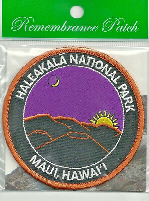 Haleakala National Park Souvenir Hawaii Patch