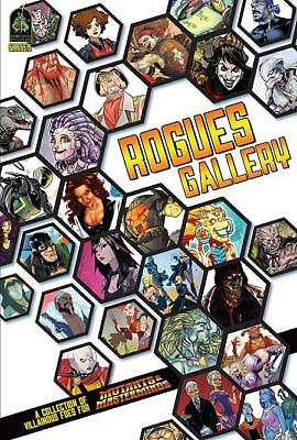 Green Ronin Mutants & Masterminds Rogues Gallery HC MINT