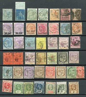 Early Commonwealth Postage Stamps Mauritius