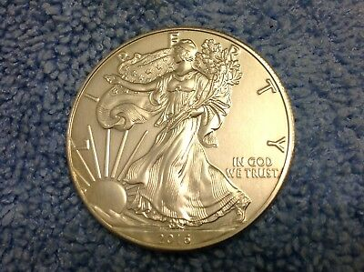 2016  1 oz Silver American Eagle Coin Brilliant Uncirculated .999 Fine Silver