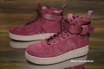 promo code 3e062 f0422 Nike SF Air Force 1 MID FIF Vintage Wine AJ1698-600 Women s Shoes Multi Size