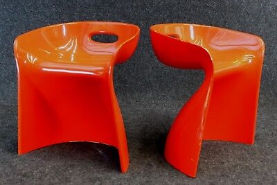 2 x TOP-SIT chair / stool ° WINFRIED STAEB für FORM + LIFE collection ° 1968