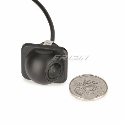 Small Straw Hat Rear View Camera 170° Guard line Back Color Waterproof PC1089 HD
