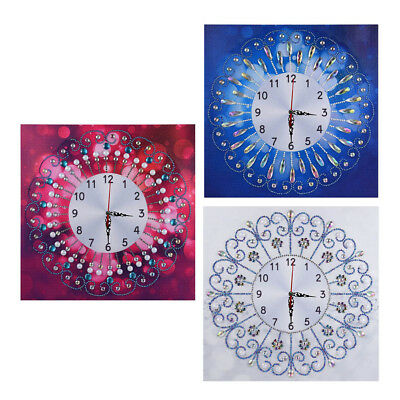 5D Special Wall Clock Diamond Painting Cross Stitch Diamond Crafts Decor LKI