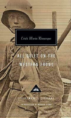 All Quiet on the Western Front by Erich Maria Remarque Hardcover Book Free Shipp