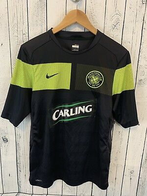 0eff39481 NIKE Celtic FC Football Club Fit Dry T Shirt Black Size Small Soccer Carling  S2