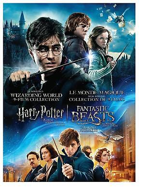 J.K. Rowlings Wizarding World 9 Film Collection HARRY POTTER DVD -New & Sealed!