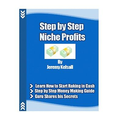 Make Money STEP BY STEP NICHE PROFITS PDF Ebook with MAster Resell Right
