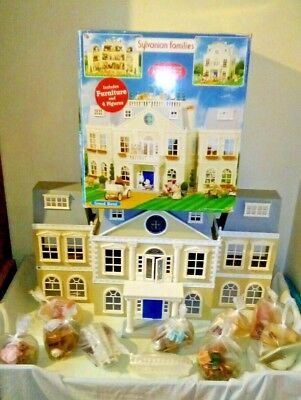 Sylvanian Families Boxed Grand Hotel, Furniture and Figures bundle